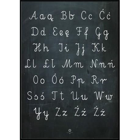 Plakat Letters_Alfabet