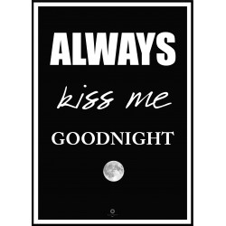 Plakat Goodnight No_001 50x70