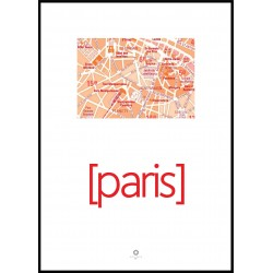 Plakat Cities No_003 50x70