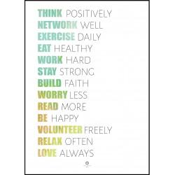 Plakat Words of wisdom No_040_2