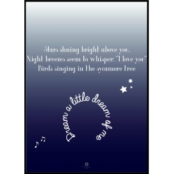 Plakat Goodnight No_002 50x70