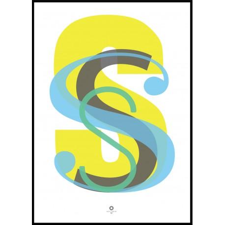 Plakat Letters_S