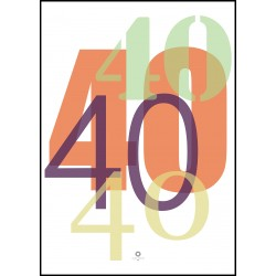 Plakat Numbers_40