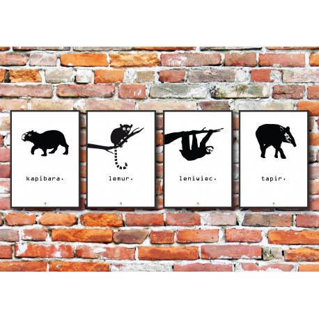 Plakat Animals No_001
