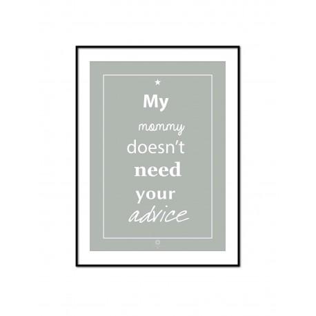 Plakat Words of wisdom No_008_grey
