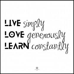Plakat Words of wisdom No_036