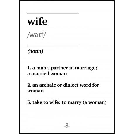 Plakat Words No_008