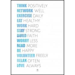 Plakat Words of wisdom No_040
