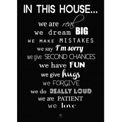 Plakat Words of wisdom No_018_black