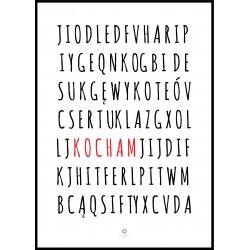 Plakat Letters No_001