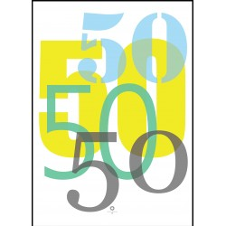 Plakat Numbers_50
